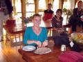Dining room, Tarchin Hearn Retreat, February 2009