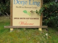 Entry sign, Tarchin Hearn Retreat, February 2009