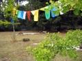 Prayer flags, Tarchin Hearn Retreat, February 2009