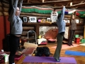Yoga in the Gompa