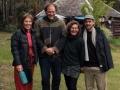 Kate, Richard, Roslyn and Taj