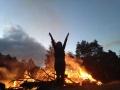 Roslyn at bonfire