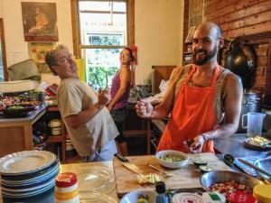 Kitchen hands, 2015 retreat